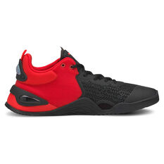Puma Fuse Mens Training Shoes Red/Black US 8, Red/Black, rebel_hi-res