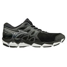 Mizuno Wave Horizon 3 Mens Running Shoes Black / White US 8, Black / White, rebel_hi-res