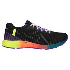 Asics Dynaflyte 3 Mens Running Shoes Black / White US 7, Black / White, rebel_hi-res