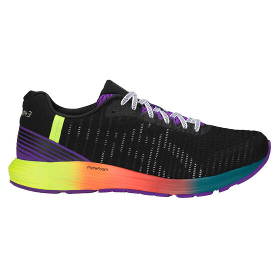 cheaper fa29a d0773 Asics Dynaflyte 3 Mens Running Shoes, Black   White, rebel hi-res