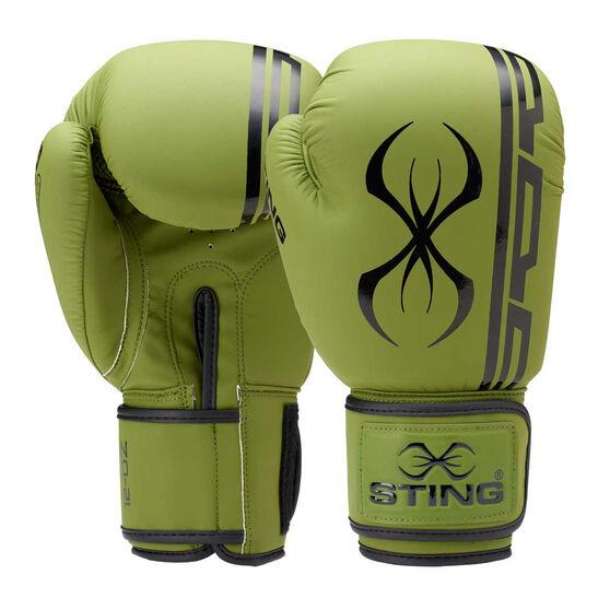 Sting Armaplus Boxing Gloves, Khaki, rebel_hi-res