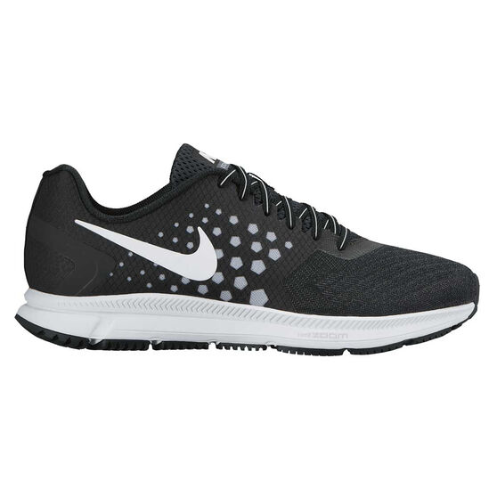 d7d3c80d040f7 Nike Air Zoom Span Mens Running Shoes Black   wolf grey US 8.5 ...