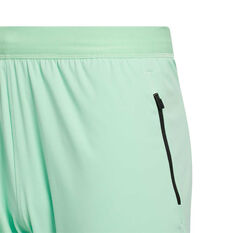 adidas Mens HEAT.RDY 9in Training Shorts Green S, Green, rebel_hi-res