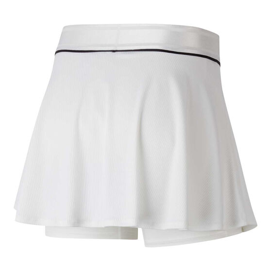 Nike Womens Court Dri-FIT Tennis Skirt, White, rebel_hi-res