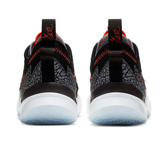 Nike Air Jordan Why Not Zer0.3 Mens Basketball Shoes Black/Crimson US 9, Black/Crimson, rebel_hi-res