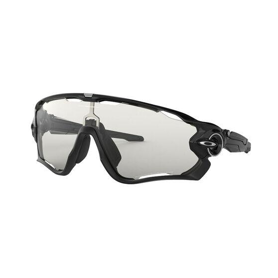 OAKLEY Jawbreaker Sunglasses - Polished Black with Clear Black Polarized, , rebel_hi-res