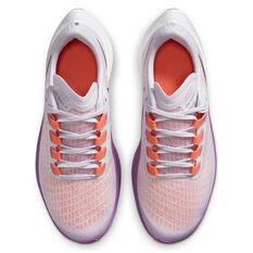 Nike Air Zoom Pegasus 37 Kids Running Shoes, Purple/Grey, rebel_hi-res