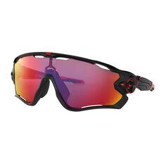 Oakley Jawbreaker Sunglasses Matte Black/Prizm Road, Matte Black/Prizm Road, rebel_hi-res