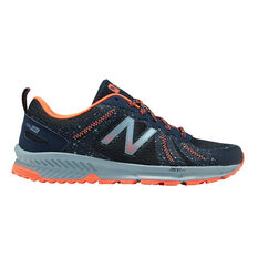 New Balance 590v4 Womens Trail Running Shoes Navy / Red US 6, Navy / Red, rebel_hi-res