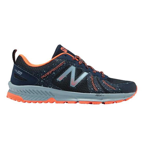 60d78b306fb7c New Balance 590v4 Womens Trail Running Shoes, Navy / Red, rebel_hi-res