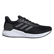 adidas Solar Ride Mens Running Shoes Black / Navy US 7, Black / Navy, rebel_hi-res