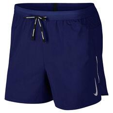 Nike Mens Flex Stride 5in Running Shorts Blue S, Blue, rebel_hi-res