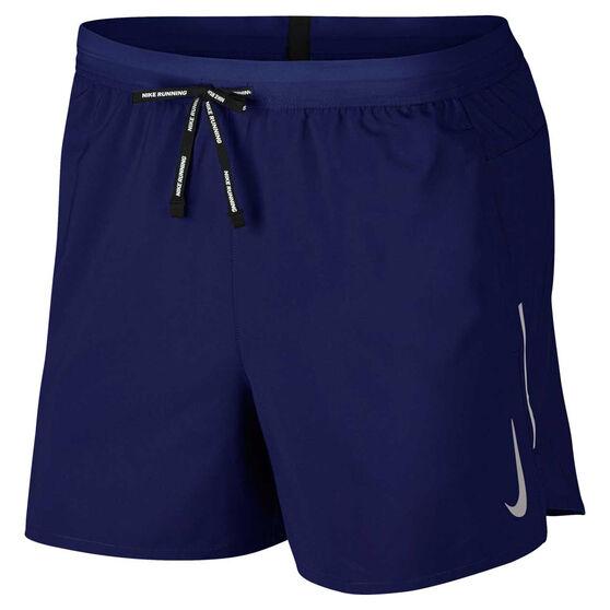Nike Mens Flex Stride 5in Running Shorts, Blue, rebel_hi-res