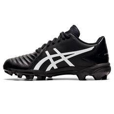 Asics Lethal Ultimate Kids Football Boots, Black/White, rebel_hi-res