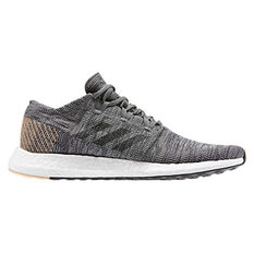 adidas Pureboost GO Mens Running Shoes Grey / Black US 7, Grey / Black, rebel_hi-res