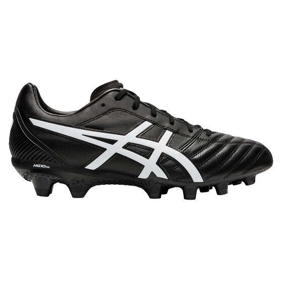 Asics Lethal Flash IT Football Boots, Black / White, rebel_hi-res