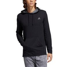 adidas Mens Urban Global Pullover Hoodie Black M, Black, rebel_hi-res
