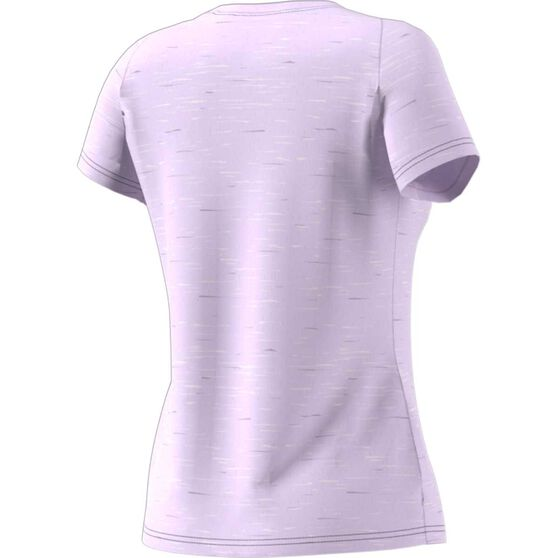 adidas Womens Winners Tee, Purple, rebel_hi-res