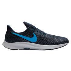 Nike Air Zoom Pegasus 35 Mens Running Shoes Navy / Blue, Navy / Blue, rebel_hi-res