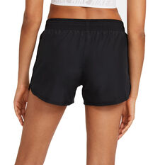 Nike Womens Swoosh Run Running Shorts, Black, rebel_hi-res