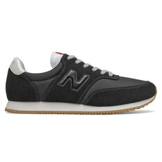 New Balance Comp 100 Mens Casual Shoes Black/Grey US 7, Black/Grey, rebel_hi-res