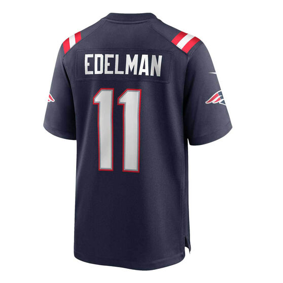 New England Patriots Julian Edelman 2020 Mens Jersey Navy M, Navy, rebel_hi-res