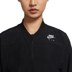Nike Air Womens Running Jacket, Black, rebel_hi-res
