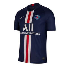 Paris Saint Germain FC 2019/20 Mens Home Jersey Navy / Red S, , rebel_hi-res