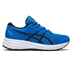 Asics Patriot 12 Kids Running Shoes Blue US 4, Blue, rebel_hi-res
