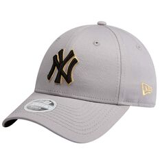 New York Yankees Womens New Era 9FORTY Gold Cap, , rebel_hi-res