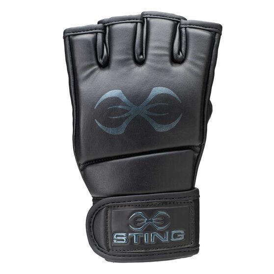 Sting MMA Training Gloves, Black, rebel_hi-res
