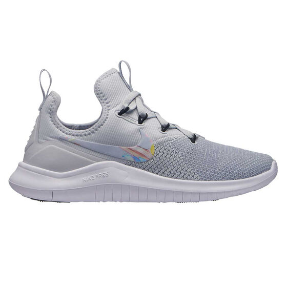 39cf1f5069b2 Nike Free TR 8 Print Womens Training Shoes White   Black US 8 ...