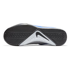 Nike Phantom Vision Academy Junior Indoor Soccer Shoes Blue / Black US 1, Blue / Black, rebel_hi-res