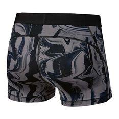 Nike Womens  Pro HyperCool Shorts Grey / White XS Adult, Grey / White, rebel_hi-res