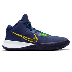 Nike Kyrie Flytrap 4 Mens Basketball Shoes Blue/Yellow US 7, Blue/Yellow, rebel_hi-res