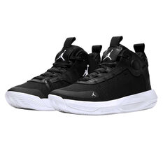 Nike Jordan Jumpman 2020 Mens Basketball Shoes Black / White US 7, Black / White, rebel_hi-res