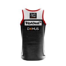 St George Illawarra Dragons 2019 Mens Training Singlet Black / Red S, Black / Red, rebel_hi-res
