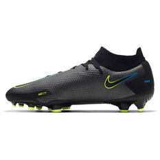 Nike Phantom GT Pro DF Football Boots Black US Mens 7.5 / Womens 9, Black, rebel_hi-res