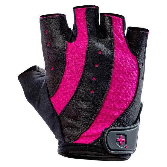 Harbinger Womens Pro Training Gloves, Black / Pink, rebel_hi-res