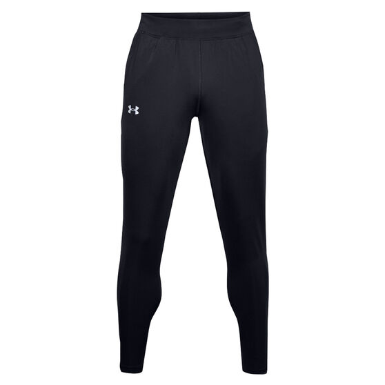 Under Armour Mens Fly Fast HeatGear Track Pants, Black, rebel_hi-res