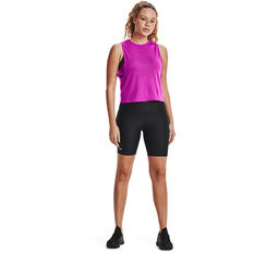 Under Armour Womens HeatGear Armour Bike Shorts Black XS, Black, rebel_hi-res