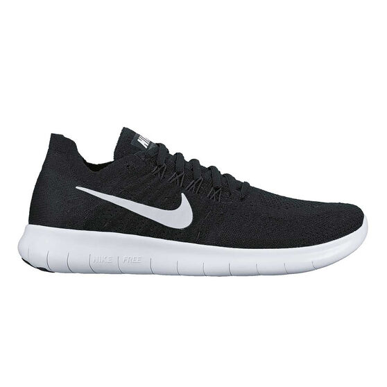 3afcd1f0de5 Nike Free Run Flyknit 2017 Womens Running Shoes Black   White US 7 ...