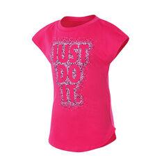 Nike Girls Dot Burst Modern Tee Pink 4, Pink, rebel_hi-res