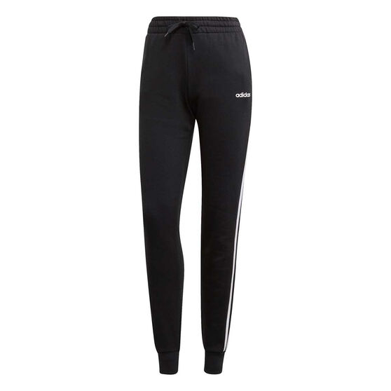 01e187fa adidas Womens Essentials 3 Stripes Jogger Pants, Black, rebel_hi-res