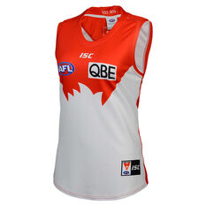 Sydney Swans 2020 Womens Home Guernsey Red/White 8, Red/White, rebel_hi-res