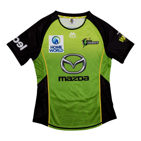 Sydney Thunder 2019 WBBL Womens Jersey, Green, rebel_hi-res