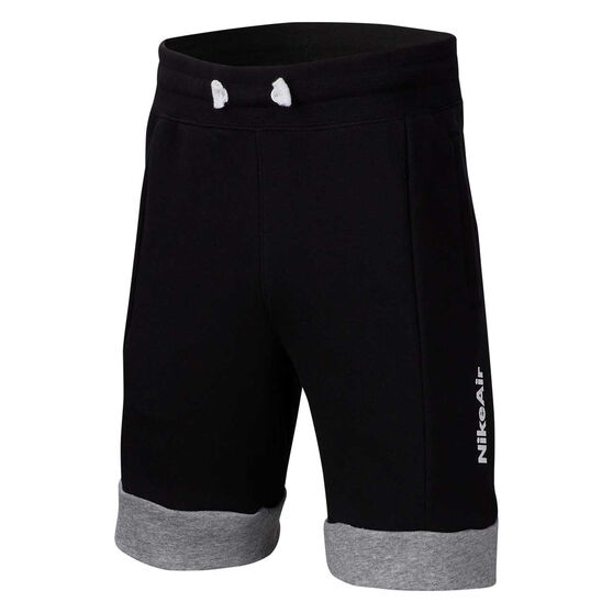 Nike Sportswear Boys Air Shorts, Black / Grey, rebel_hi-res