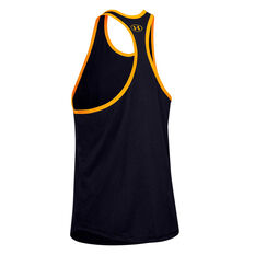 Under Armour Mens Project Rock Iron Paradise Tank Black XS, Black, rebel_hi-res