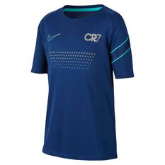 Nike Dri-FIT CR7 Boys Soccer Top Blue / Teal XS, Blue / Teal, rebel_hi-res
