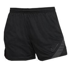 Nike Womens Dri-FIT Academy Shorts Black / White XS, Black / White, rebel_hi-res